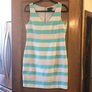Taylor preppy textured dress